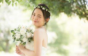 若い花嫁さん