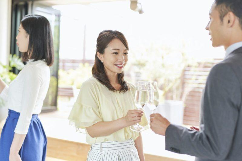 婚活中の会話